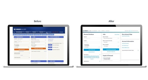 were creating a more user friendly careerbuilder experience
