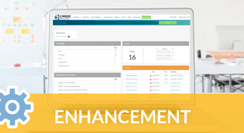 New Enhancements, Including Screener Questions Template, Added to Applicant Tracking