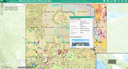 March App of the Month: Alberta Interactive Minerals Map