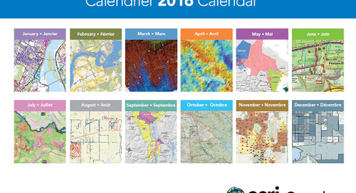 2016 Map Calendar & App of the Month Contest Winners
