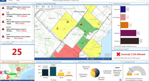 Turn the lights back on with GIS & operations dashboards