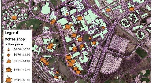 Un gagnant d'une bourse d'admission en géomatique à l'UW acquiert de l'expérience avec un logiciel d'Esri