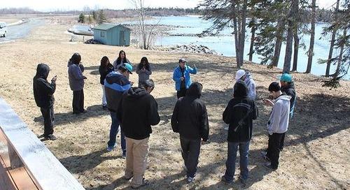 Michael Li:Promouvoir les SIG dans les écoles des communautés des Premières Nations du Manitoba