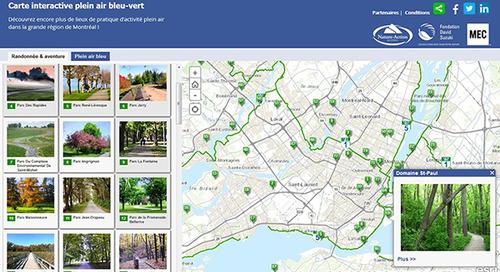 Nature-Action Québec advances David Suzuki Foundation campaign with interactive map