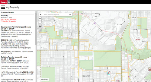 Application du mois d'avril : myProperty de Calgary