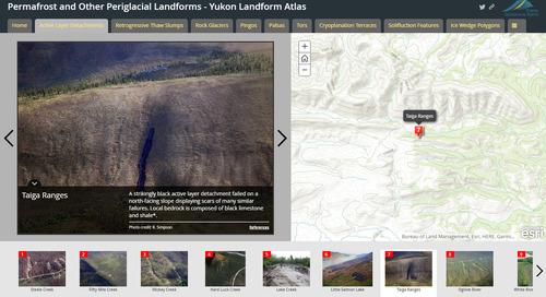 Application du mois de mars : Atlas topographique du Yukon