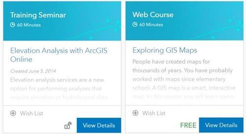 Enseignants : accédez à des outils d'apprentissage en ligne à partir de votre compte ArcGIS Online