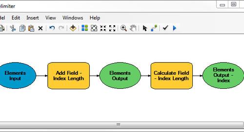 Délimitez vos données dans ModelBuilder