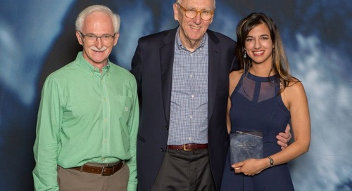 Esri UC: A unique and memorable experience for Canada's Esri Young Scholar