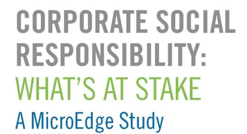 Corporate Social Responsibility: What's at Stake
