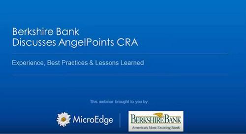 Webinar: Case Study - Berkshire Bank Discusses AngelPoints CRA