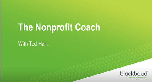 [Podcast] Nonprofit Coach: Annie Rhodes on Leveraging Technology: Blackbaud Outcomes