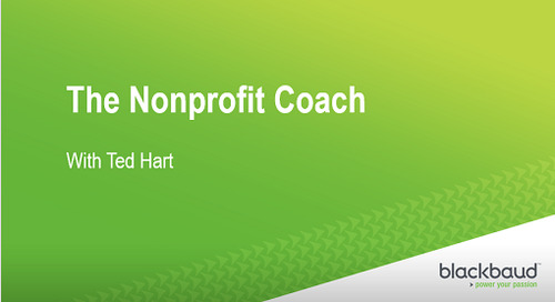 [Podcast] The Nonprofit Coach - Results Focused and ROI Driven Giving