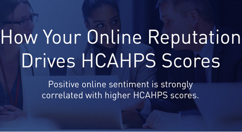 [Infographic] How Your Online Reputation Drives HCAHPS Scores