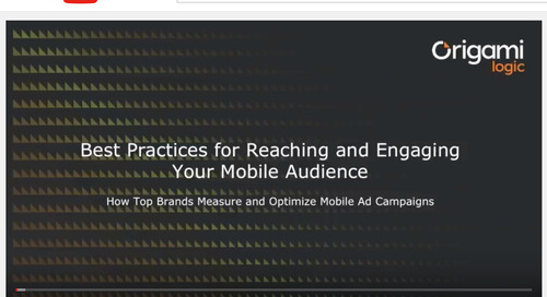 Best Practices for Reaching and Engaging Your Mobile Audience [Video]