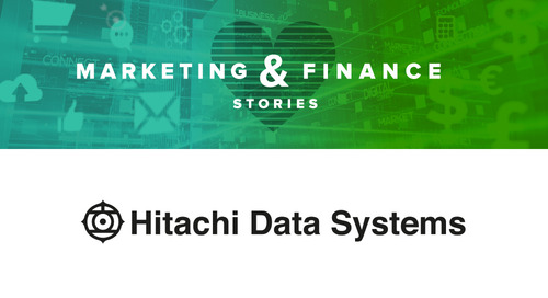 Marketing & Finance Story: Hitachi Data Systems