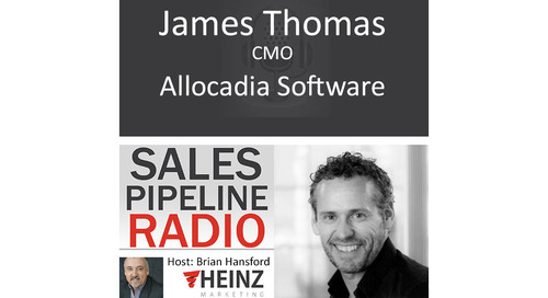 James Thomas featured on Sales Pipeline Radio Podcast