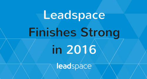 Leadspace More Than Doubles Customer Growth in Mid-Market and Enterprise Sectors in 2016