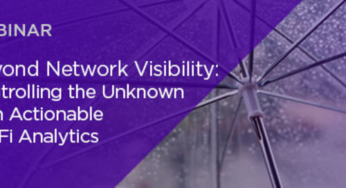 Beyond Network Visibility: Controlling the Unknown with Actionable Wi-Fi Analytics
