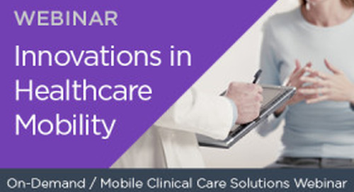 Innovations in Healthcare Mobility
