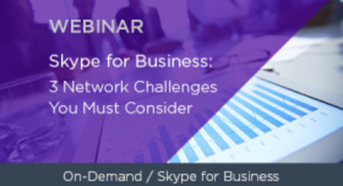 Microsoft Lync: 3 Network Challenges You Must Consider