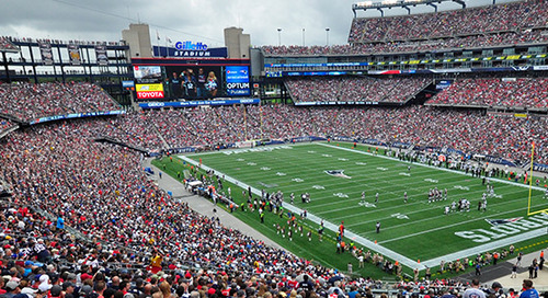 New England Patriots, Gillette Stadium, and 802.11ac Wave 2 Wireless