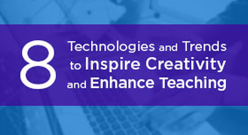 Eight Technologies and Trends to Inspire Creativity and Enhance Teaching