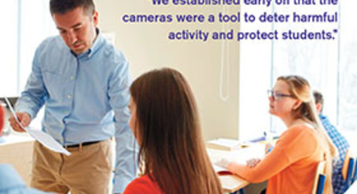 Making the Case for Security Cameras in Colleges and Schools