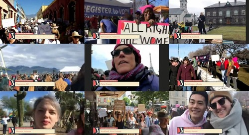 With Only Cell Phones and $50, We Live-Streamed the Sister Marches to the World