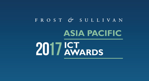 BlueJeans Awarded 2017 Frost & Sullivan Asia-Pacific Video Collaboration Service Provider of the Year Award