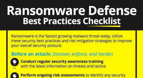 Ransomware Defense Checklist
