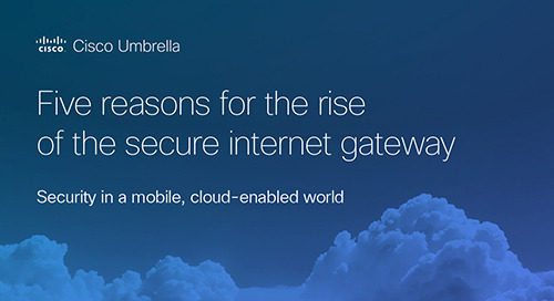 Five reasons for the rise of the secure internet gateway
