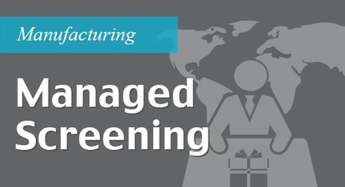 Managed IntegraWatch® screening - Managed services