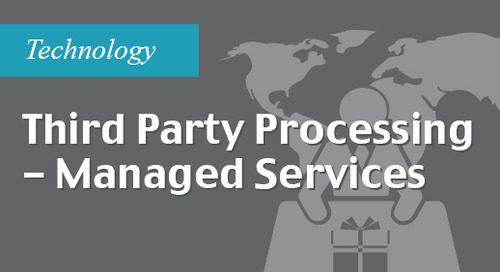 Third party processing - managed services