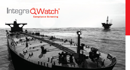 Product developments 16/17 - IntegraWatch® | Compliance Screening