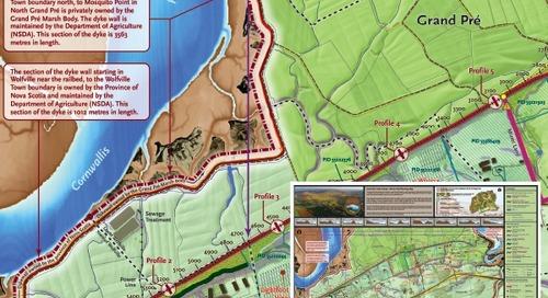 Grand Pré Trails Society – Carte de planification Rail-to-Trail
