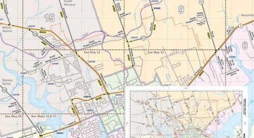 Atlas des routes provinciales de l'Île-du-Prince-Édouard