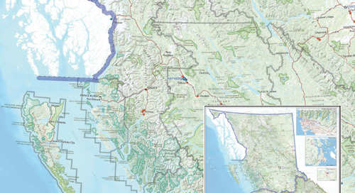 Activités du ministère de l'Environnement dans les régions : emplacement des bureaux et de la surveillance de la qualité de l'air et de l'ea