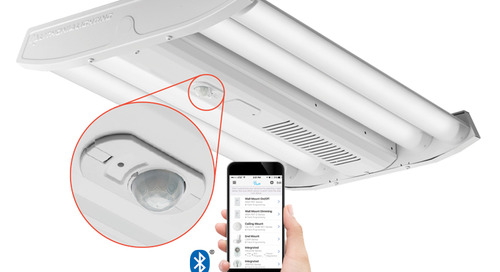 Industrial LED high bay with integrated occupancy sensors? We have them!