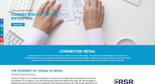 The IoT is a big deal in retail. Find out why