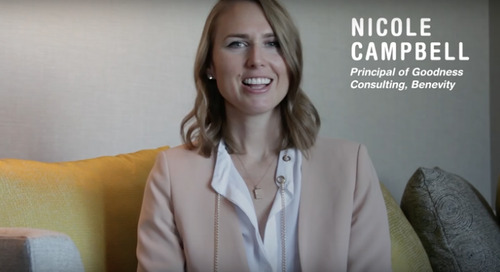 Nicole Campbell (Benevity User Conference, 2016)