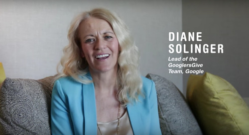 Diane Solinger, Google (Benevity User Conference 2016)