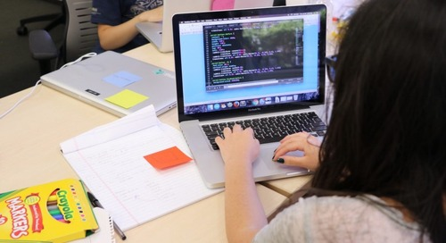 Writing the Future with Girls Who Code