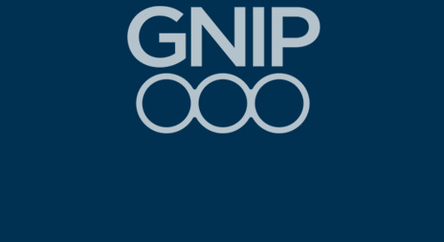 Gnip: Realizing the full potential of social media data