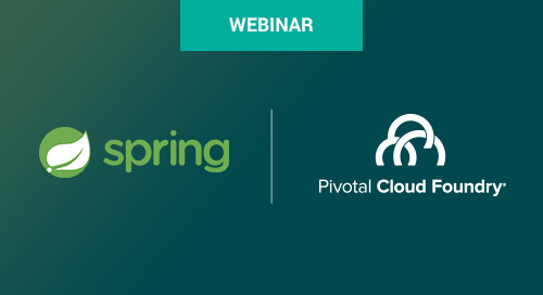 Spring Boot 1.5 and Pivotal Cloud Foundry