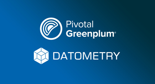 Run Teradata Workloads on Pivotal Greenplum Natively in the Cloud With Datometry