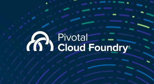 一篇文章看懂 Pivotal Cloud Foundry 2.2如何帮助您改善重要指标