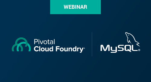Jun 6 - How to Serve MySQL On Demand with Pivotal Cloud Foundry Webinar