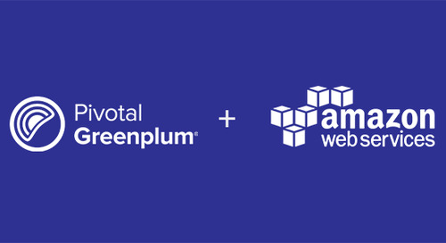 Pivotal Greenplum (Hourly) on Amazon Web Services