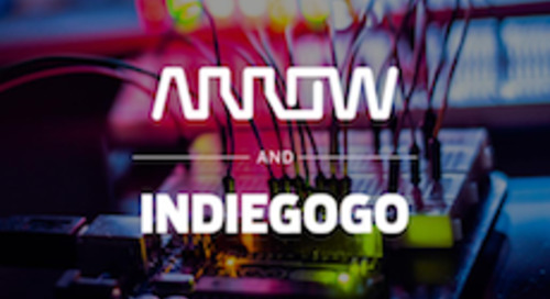 Arrow Electronics Brings Crowdfunded Technology to Life with Indiegogo